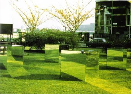 Robert Morris, Cubes Miroirs, 1965