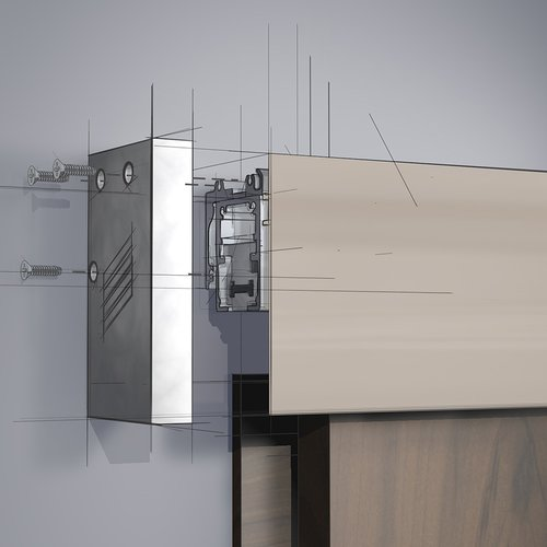 Grant Door Hardware By Hettich Grant Sd Hd Fascia End Cap