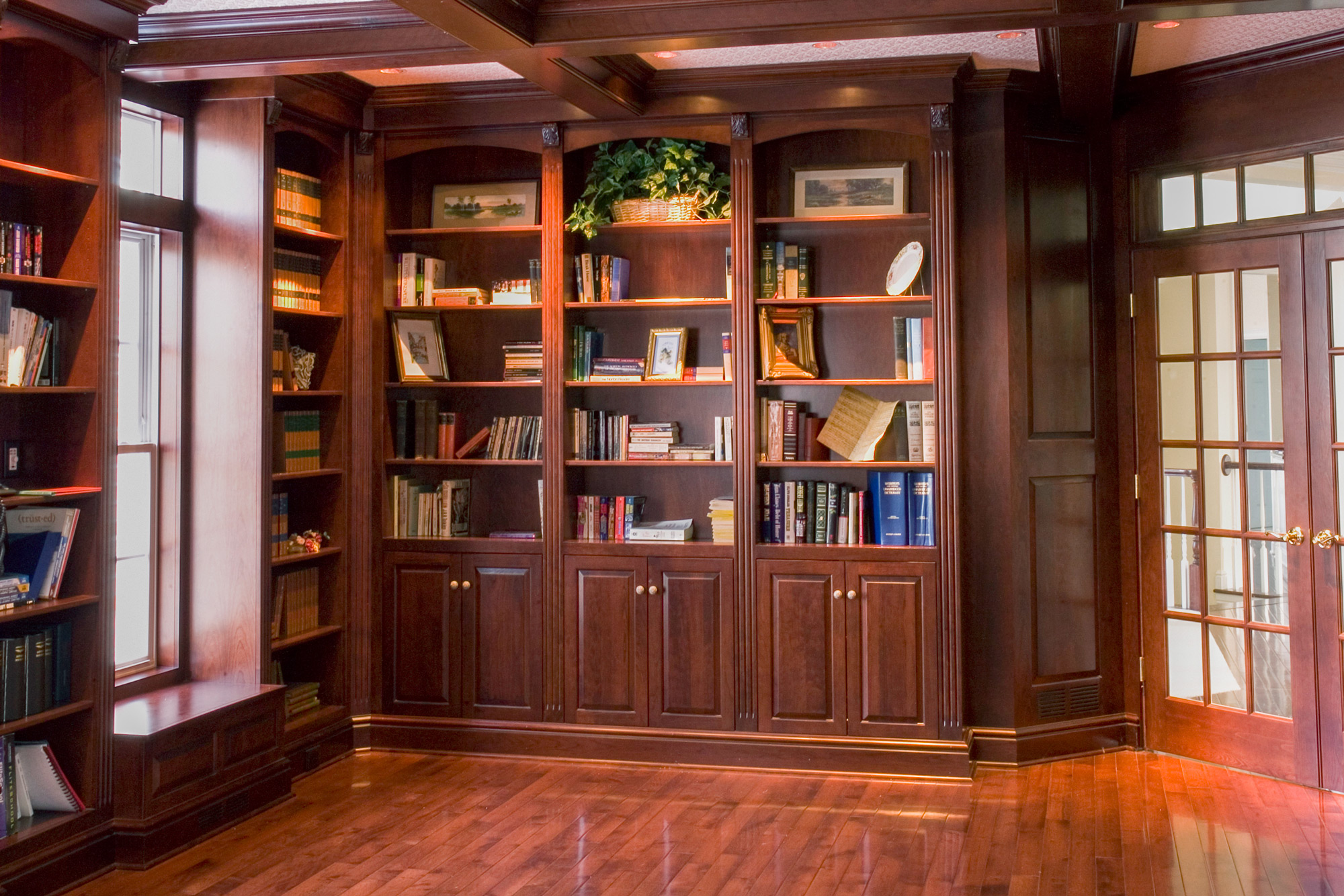 Libraries And Dens Custom Cabinetry By Ken Leech