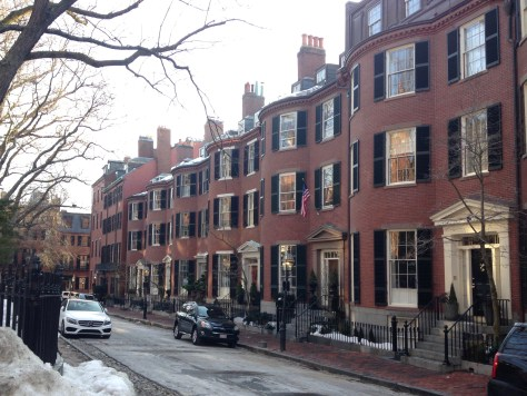 Louisburg Square - a short walk from the African American National Historic Site