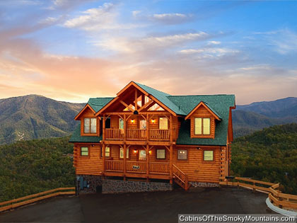 one bedroom cabins in gatlinburg / pigeon forge tn