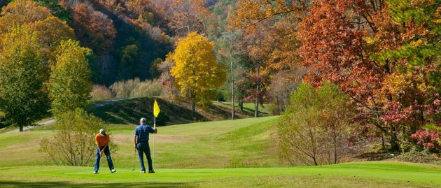 Laurel Valley Golf Course  Gatlinburg Golf Courses Image courtesy of Laurel Valley Resort