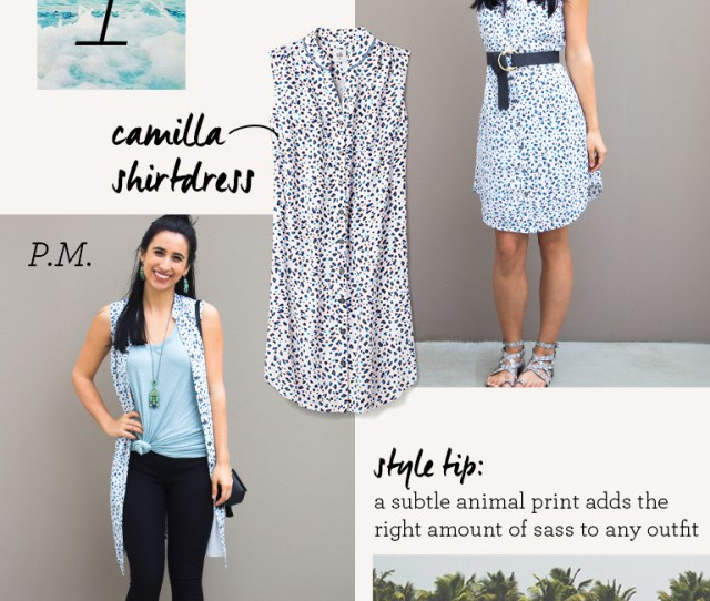 Cabi Clothing Spring Break Packing List