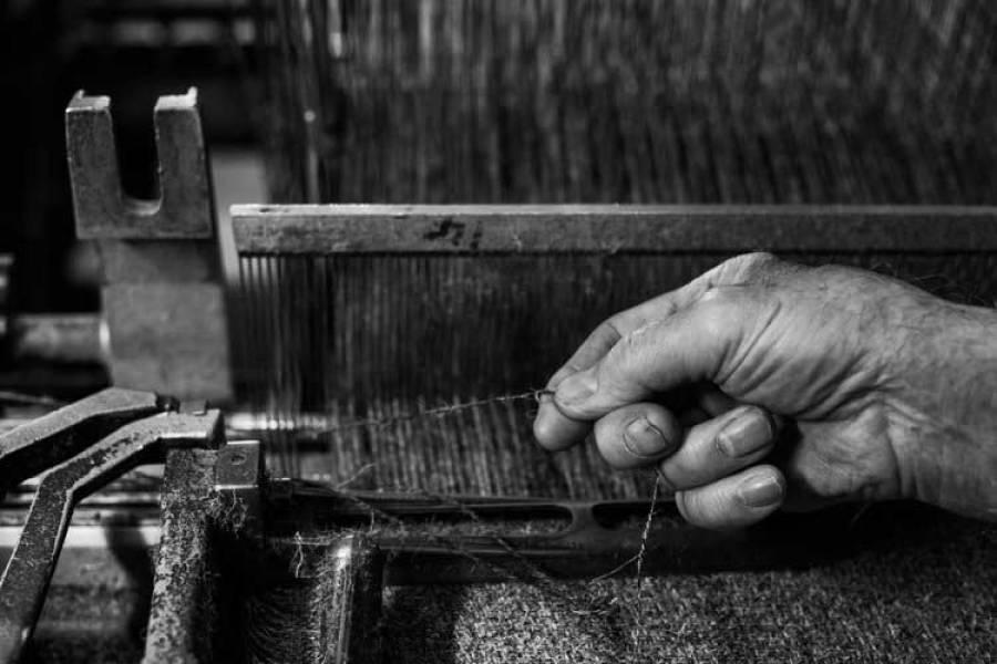 Weaving Herdwick Fabric