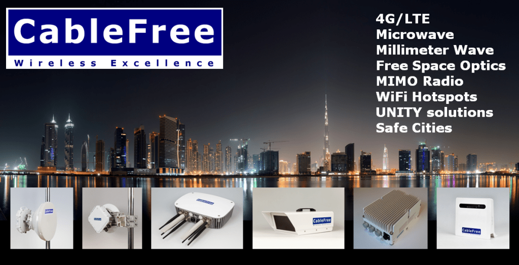 CableFree at GITEX Dubai and NATRANS Abu Dhabi
