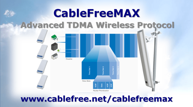 CableFreeMAX TDMA Wireless Protocol