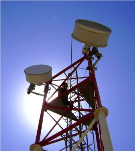 CableFree Microwave Communication Tower