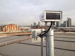 CableFree UNITY - FSO+Radio Installation in London