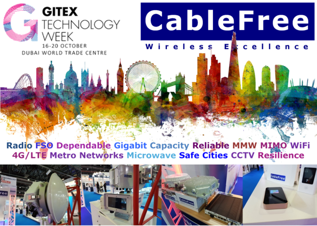 Thank you for visiting CableFree at GITEX 2016 in Dubai