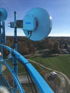 CableFree Small Cell Backhaul using CPRI over MMW