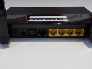 CableFree LTE Desktop B42 & B43 Rear Panel