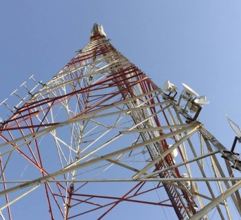 CableFree 4G LTE Tower in the Middle East