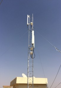 CableFree Fixed Wireless LTE Tower in Iraq