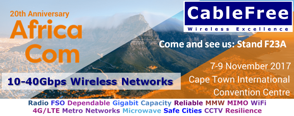 CableFree-AfricaCom-2017-Invite Events