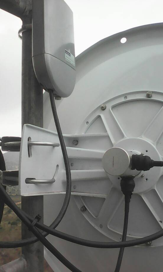CableFree MIMO radios installed in Tanzania