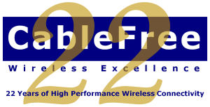 CableFree celebrating at 22