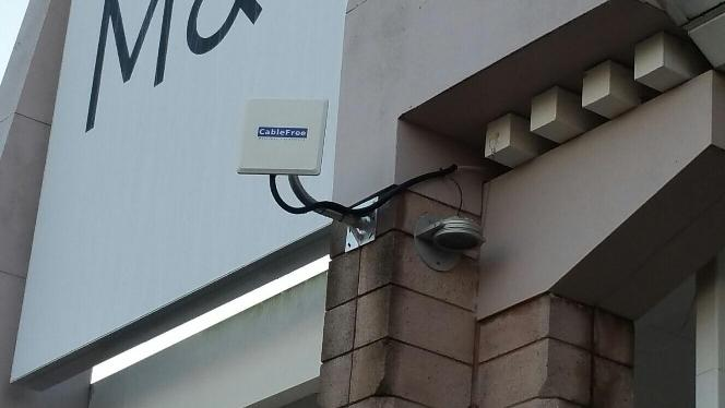 CableFree MIMO Radios installed for major UK Retailer