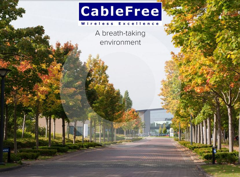 CableFree at The Oxford Science Park