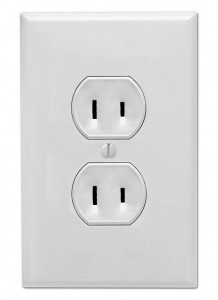 CableFree AC Mains Electricity Plug Type A