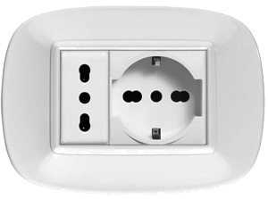 CableFree AC Mains Plugs Sockets Type L
