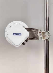 CableFree-MMW-1Gbps-EBand with AirLight Management