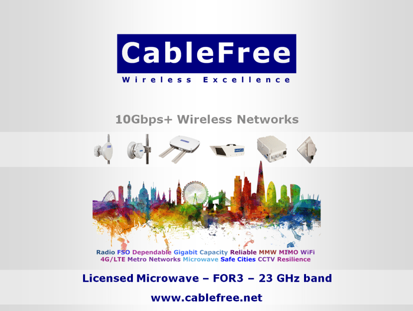CableFree FOR3 Microwave 23GHz