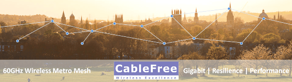CableFree 60GHz V-band Metro Mesh Wireless Solution-600