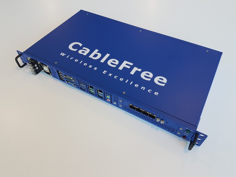 CableFree Baseband Unit (BBU) for Private LTE 4G & 5G