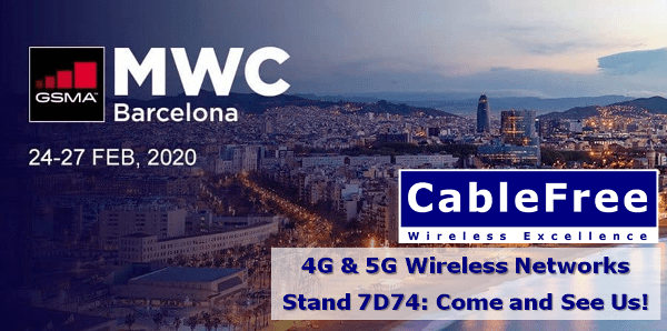 CableFree at MWC Barcelona 2020