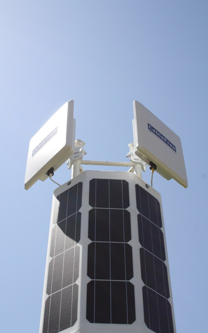 CableFree Wireless - Solar Offgrid Power