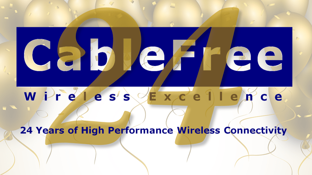 Happy Birthday CableFree at 24