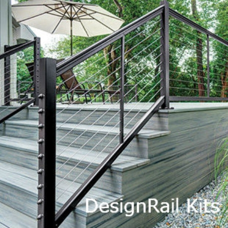 Exterior And Interior Cable Railing Cable Handrail Cable Rail | Tension Wire Stair Railing | Stainless Steel | Simple | Aluminum Commercial | Residential | Wire Balustrade