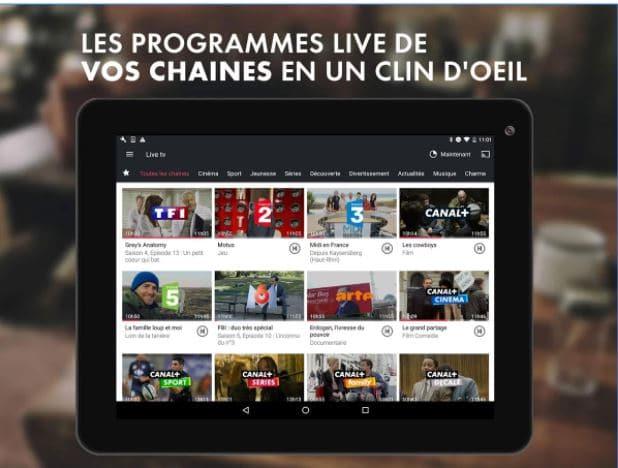 Quelle application pour regarder la TV sur tablette et mobile ?