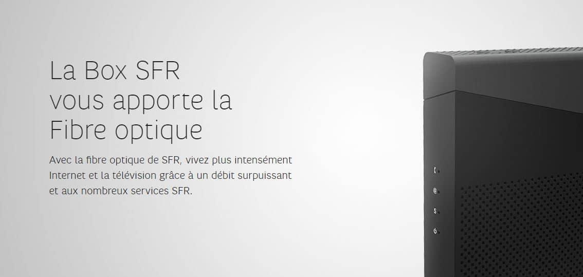 Offres fibre SFR : comparatif des offres fibre SFR et les avis des clients