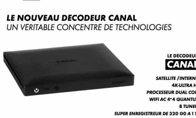 Canal+ lance son nouveau décodeur 4K