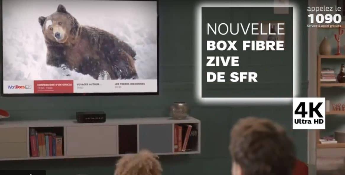 La 4K sur SFR Play VOD illimitée est réduite à néant