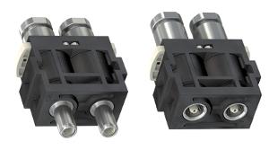 Unidad de conexión coaxial