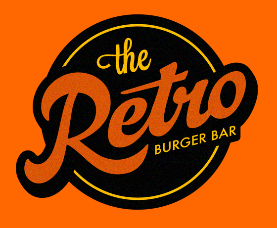 Retro-burger-bar-logo