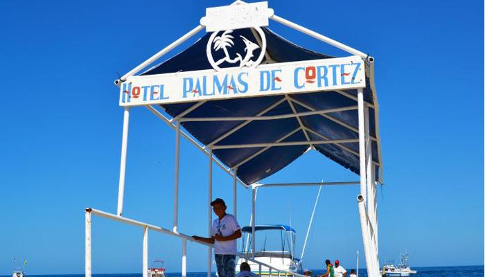 Hotel Palmas de Cortez Boat Dock