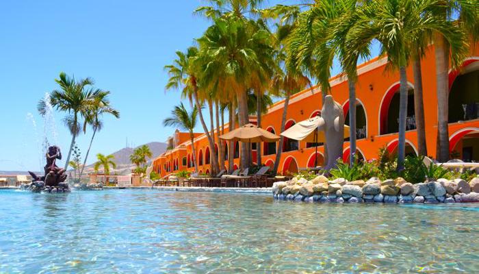 Hotel Palmas de Cortez Pool View