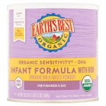 Baby Products-Earth's Best Organic Low Lactose Sensitivity Infant Powder Formula