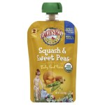 Baby Products-Earth's Best Organic Squash and Sweet Peas Baby Food Puree – Stage 2