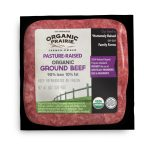 Beef-Organic Prairie Organic Pasture Raised Ground Beef, 90% Lean