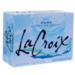 Beverages-LaCroix Pure Enhanced Sparkling Water