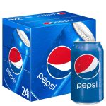 Beverages-Pepsi Regular Soda, 24 Pack