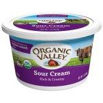 Dairy & Refrigerated-Organic Valley Sour Cream, Organic