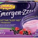 Diet & Nutrition-Emergen-ZZZZ Nighttime Sleep Aid with Melatonin, Mellow Berry