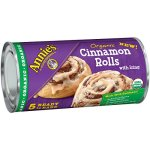 Refrigerated Dough-Annie's Organic Cinnamon Rolls with Icing 5 Ct