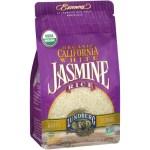 Rice, Beans & Grains-Lundberg Organic White Jasmine Rice