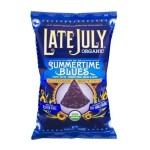 Snacks-Late July Multigrain Tortilla Chips Gluten Free Summertime Blues, Organic